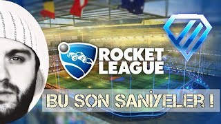 Rocket League : Türkçe - Diamond 2 (2v2) Ah Bu Son Saniyeler !