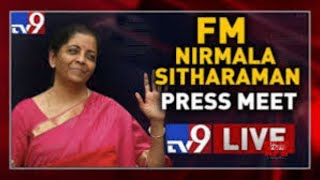 Nirmala Sitharaman press conference LIVE