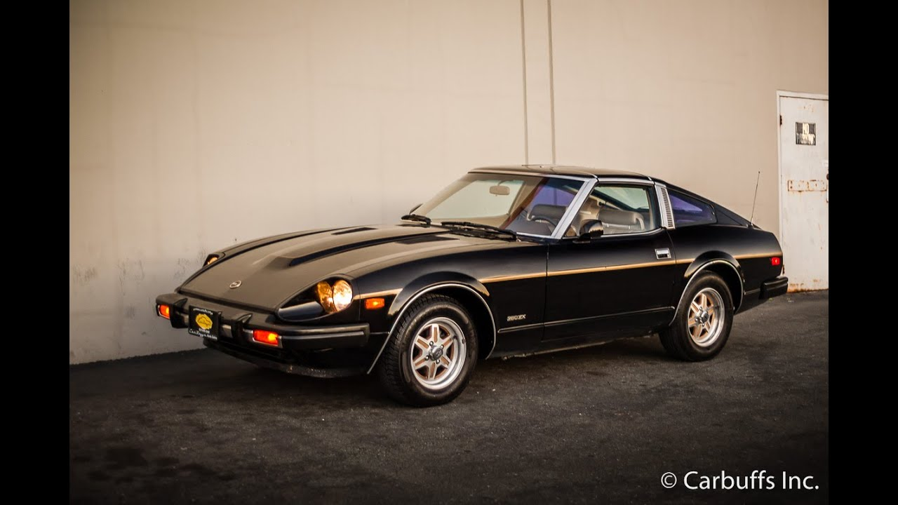 1981 datsun 280zx startup and walkaround doovi. Black Bedroom Furniture Sets. Home Design Ideas