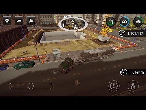 Construction Simulator 2 - #11 New Mack and Meiller vehicle set  - Gameplay