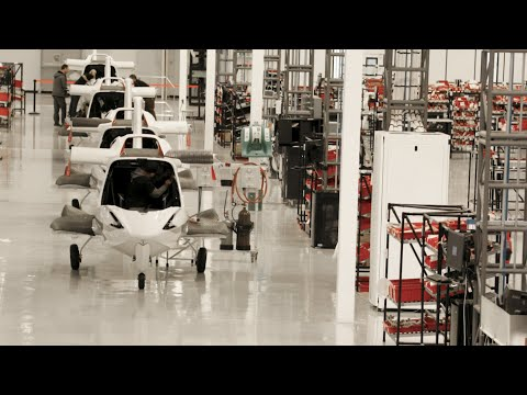 Inside The ICON A5 Final Assembly Facility | ICON USA