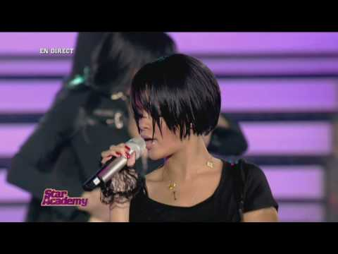 Rihanna feat Claudia Don't Stop The Music Live At Star Academy 2007 Most  Amazing Performance In HD