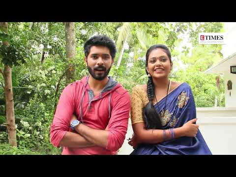 Kasthooriman couple Sreeram and Rebecca talk about their on-screen chemistry