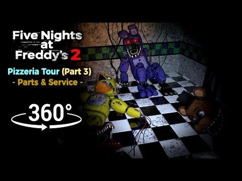 360°| Five Nights at Freddy's 2 Pizzeria Tour