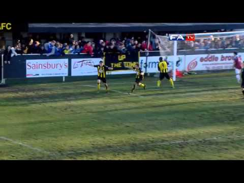 Harrogate Town 1- 1 Hastings United | The FA Cup 2nd Round 2012/13