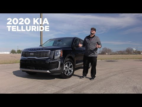 2020 Kia Telluride S model! Quick walk around.