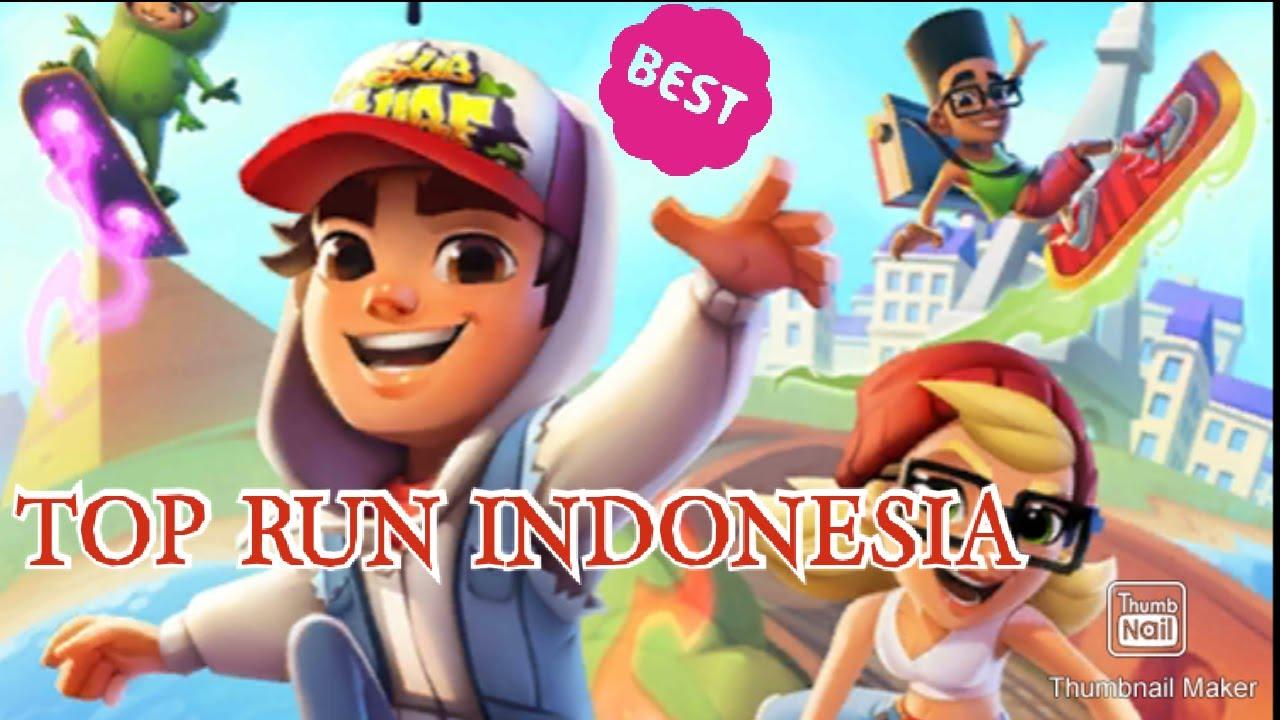 TOP RUN 2 INDONESIA, SUBWAY SURFERS IN BALI - Game Keren Subway - YouTube