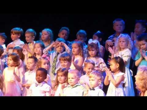 Presley Pre-K Concert Sugar Hill Christian Academy