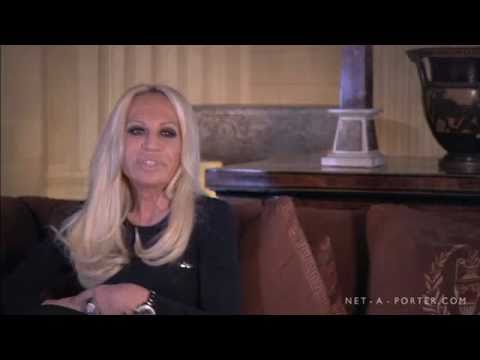 Donatella Versace Interview | NET-A-PORTER.COM