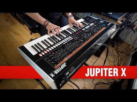 Roland Jupiter-X Synthesizer: Unboxing & Jam