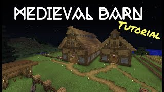 Video Minecraft 1.12 Medieval Barn Fast Tutorial download MP3, 3GP, MP4, WEBM, AVI, FLV Oktober 2018