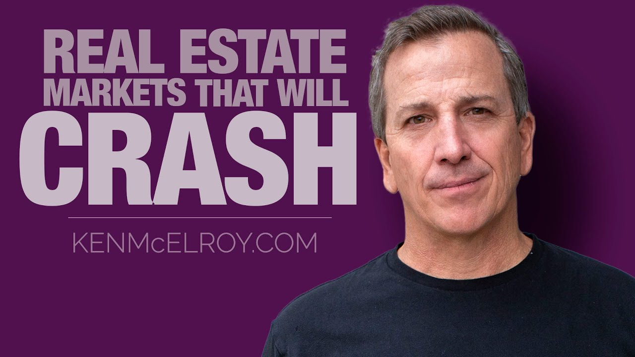 Real Estate Markets that will Crash    Markets to buy in