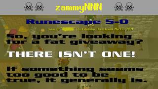 zammy718 ☠️ Runescape script-kiddie account-stealing scam