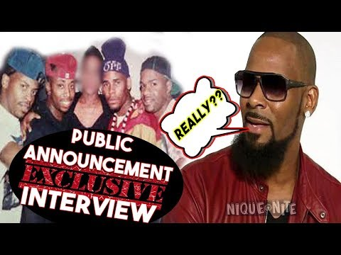 R Kellys Group Public Announcement speaks out MUST SEE INTERVIEW