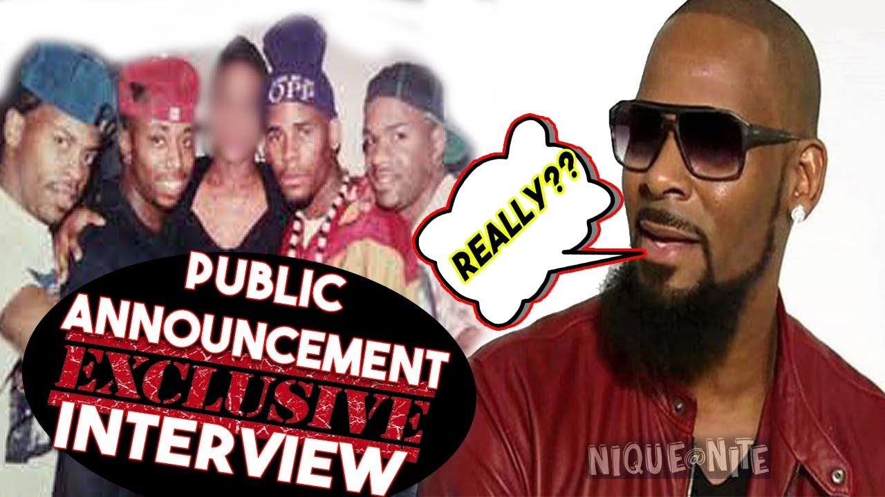 R Kelly's Group Public Announcement speaks out MUST SEE INTERVIEW