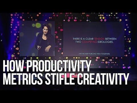 How Productivity Metrics Stifle Creativity | Rahaf Harfoush