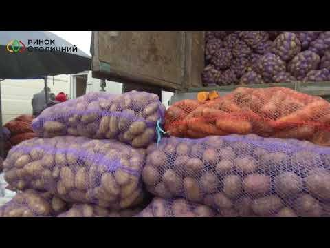 Обзор цен на картофель в Украине 25.10.19