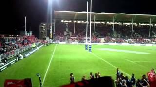 Pre-match - atmosphere at AMI Stadium in Christchurch