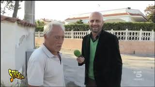 video Striscia la Notizia Luca Abete a Bagnara di Castel Volturno
