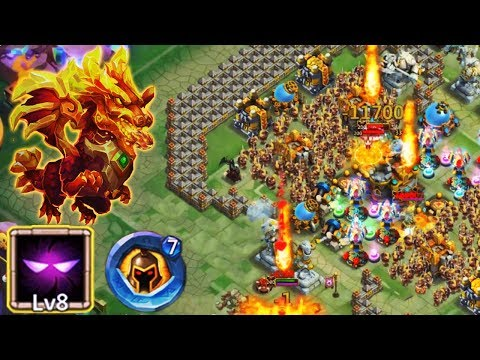 BEAST Lavanica 8 UNHOLY PACT | 7 Wargod Insignia | FULL GAMEPLAY | CASTLE CLASH