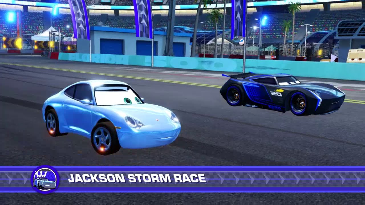 cars 3 driven to win ps4 playing as sally subscriber. Black Bedroom Furniture Sets. Home Design Ideas