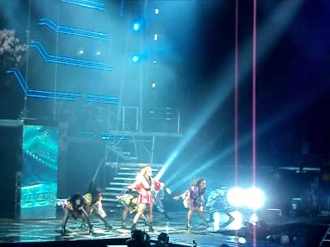 Britney Spears - Toxic (The Femme Fatale Tour; Live @ Wells Fargo Center 7.30.11)