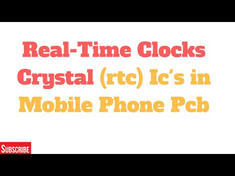 Real-Time Clocks (RTC) ICs for Mobile Phone