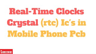 real time clocks rtc ics for mobile phone