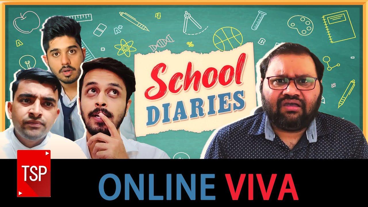 TSP's School Diaries | Online Viva | Teacher's Day Special Ft. Kaushal Sir