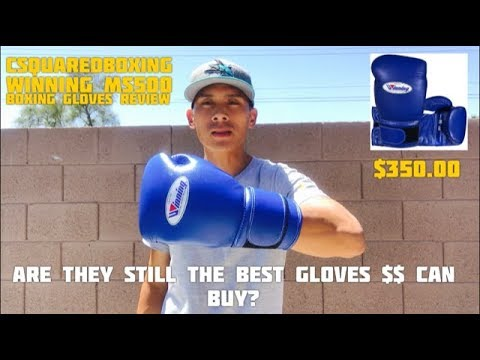 Winning MS-500 Boxing Glove REVIEW- THE GOLD STANDARD OF BOXING GLOVES?