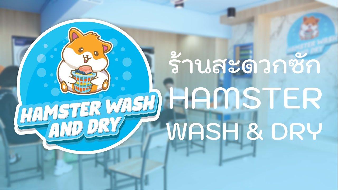 ร้านสะดวกซัก Hamster Wash&Dry | ร้านสะดวดซัก | By The M Soul