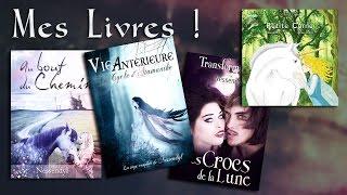 Auteur : Présentation de mes romans et autres contes !