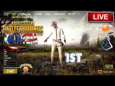 [PUBG] 1st Live Chicken Stream 🔘 LIVE | Malaysia