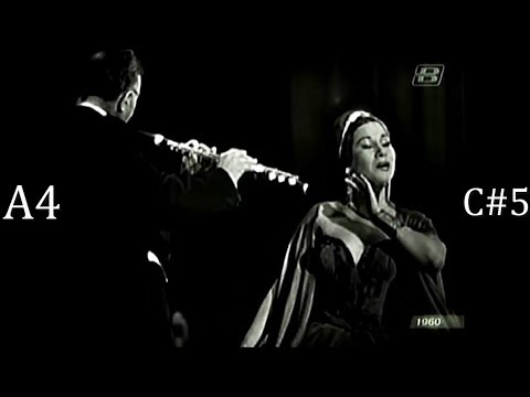 Yma Sumac In Her Duet With A Flute - Insane Harmonization