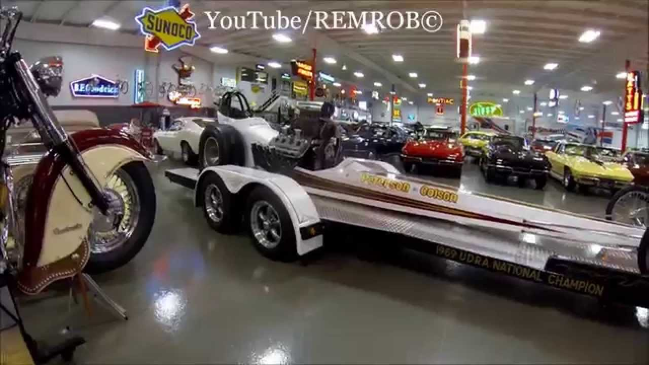 Massive Muscle Car Collection Of Ray Skillman S Youtube