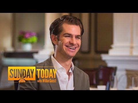 Andrew Garfield: 'Angels In America' Offers 'The Whole Human Experience'  Sunday TODAY