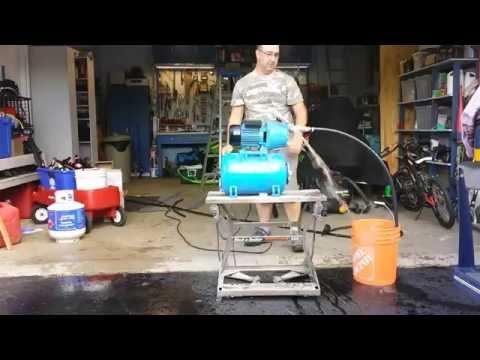pressure tank hook up kit