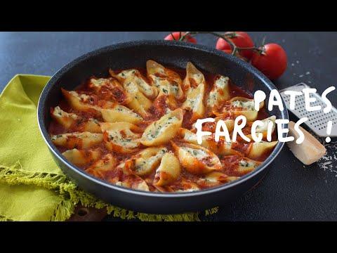 pâtes-farcis-à-la-ricotta-et-épinard