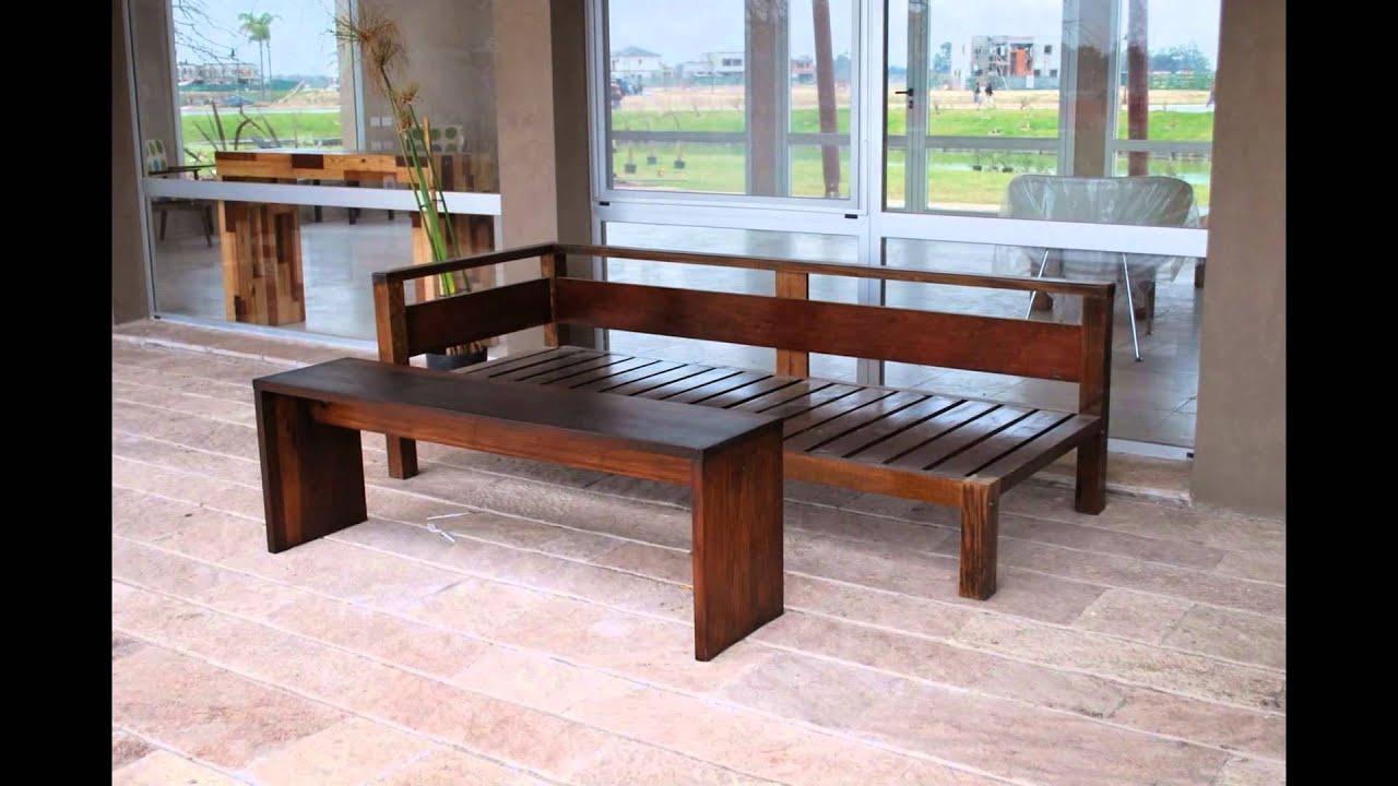 Sillones esquineros  Muebles de madera y jardn COM