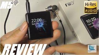 REVIEW: Fiio M5 Hi-Fi Hi-Res Audio MP3 Player, Touchscreen, Bluetooth [$99]