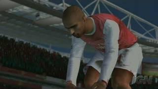 FIFA Soccer 08 Nintendo Wii Gameplay - Arsenal Attacks