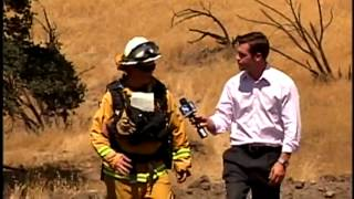 Wildfire breaks out in San Benito County