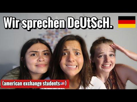 American Exchange Students SPRECHEN DEUTSCH 🇩🇪(Eindrücke & Erfahrungen!)