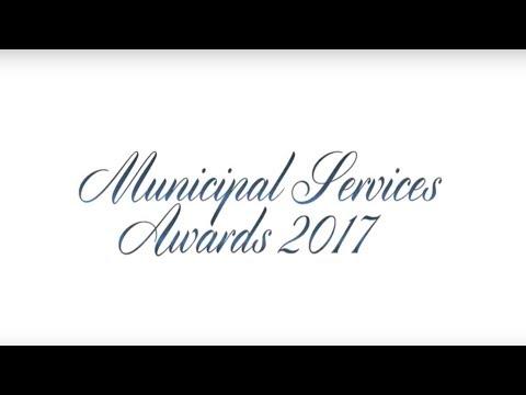 Municipal Services Awards Video 2017