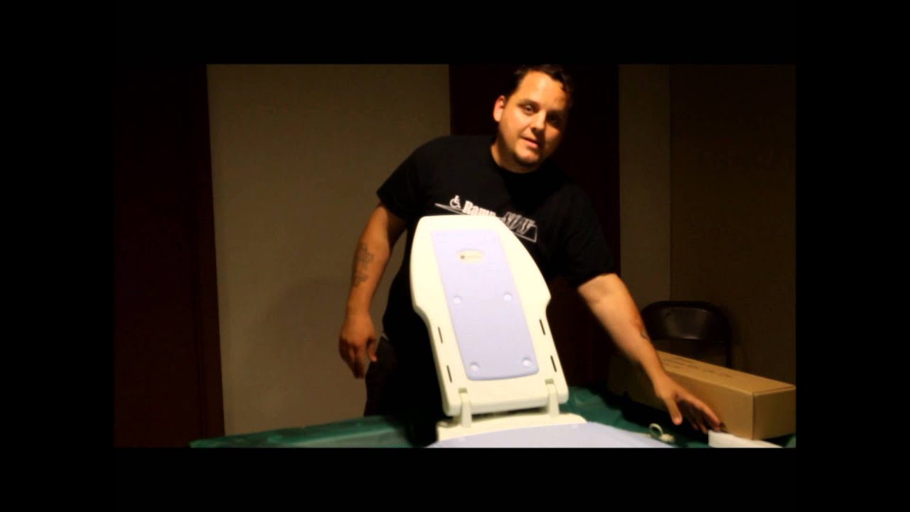 Minivator Bath Bliss 311 Reclining Bath Tub Lift - YouTube