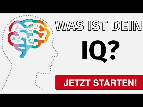 IQ TEST - 10 tricky questions (German)