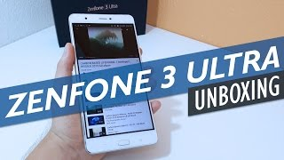 ASUS Zenfone 3 Ultra Unboxing And First Look In Detail