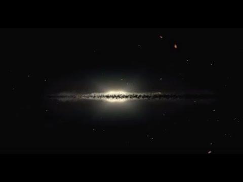 Simulação da Via Láctea