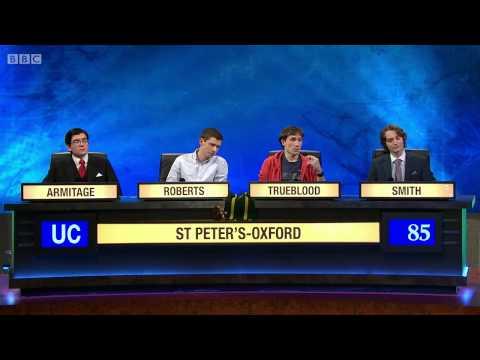 University Challenge S44E05 St Peters - Oxford vs Sussex