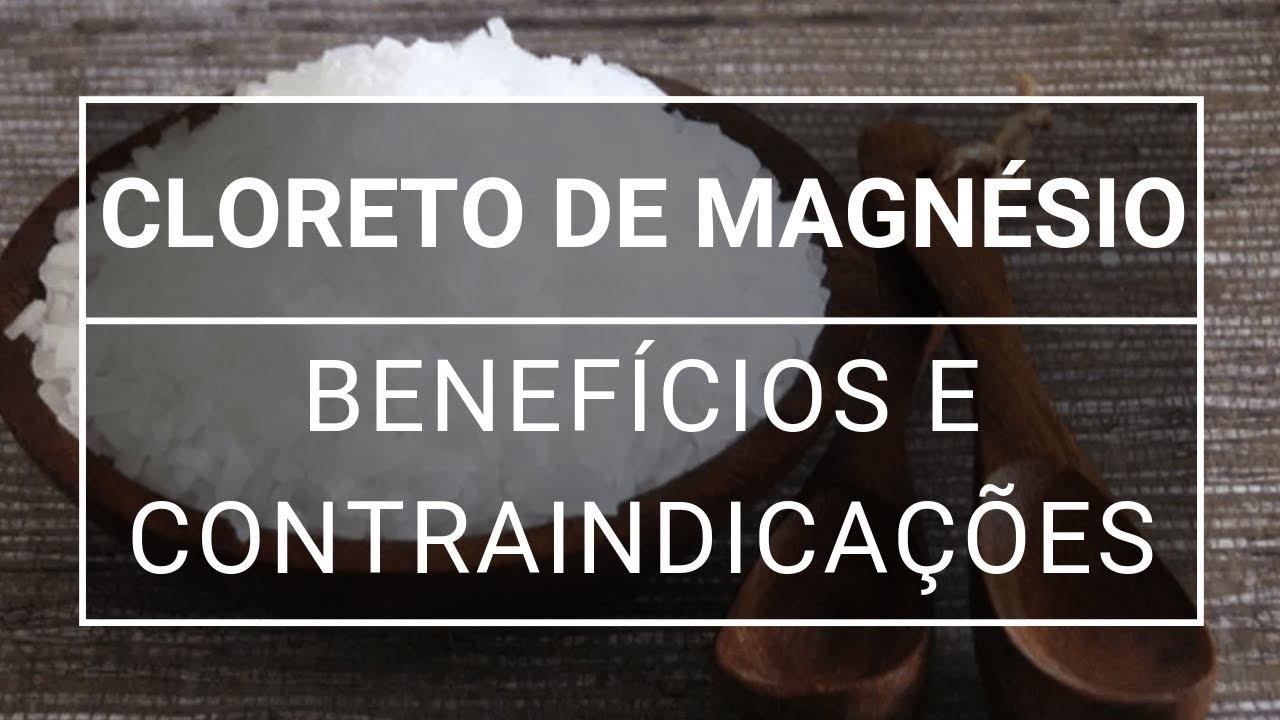Cloreto de magnésio: para que serve?